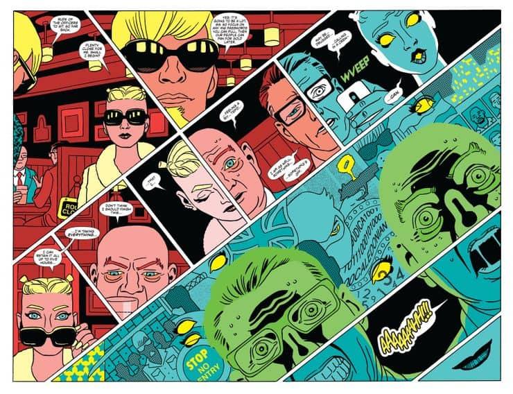 NINJAK 01 Comic Book PREVIEW