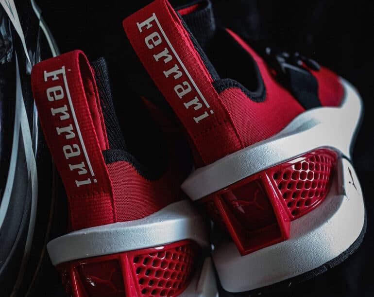 Ferrari ION F Sneakers by PUMA Inspired by SF90 Hypercar