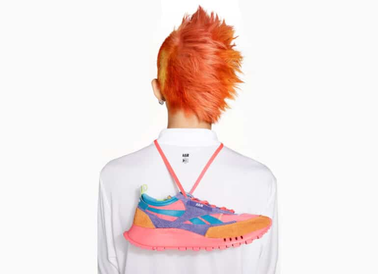 Reebok X Daniel Moon Collaboration Inspired by Power of Colour