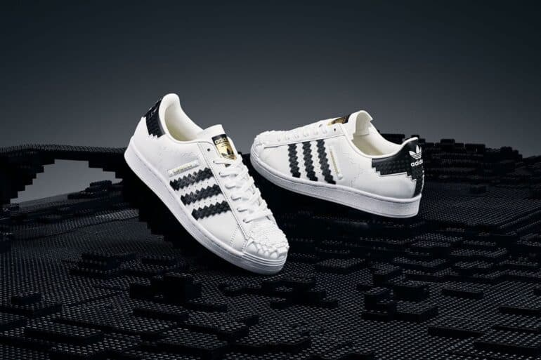 adidas Originals and LEGO Partner for Two Unique Superstar Sneakers