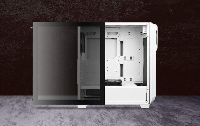 Antec DP502 Flux White Dark Phantom - Unboxing and Build