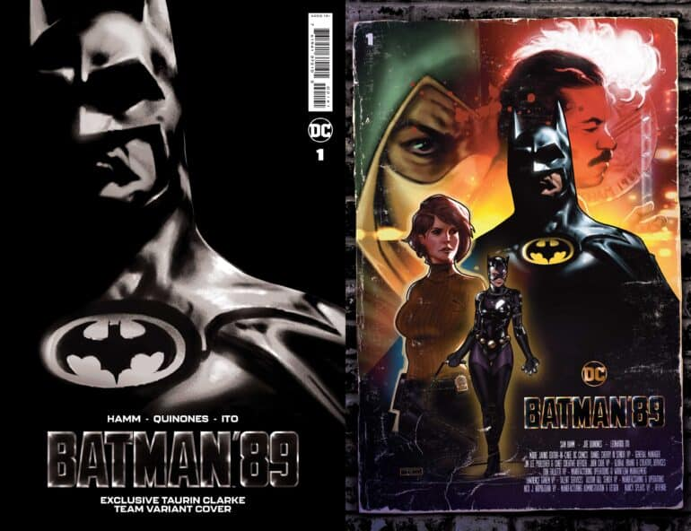Batman 89 Comic Book Tim Burton
