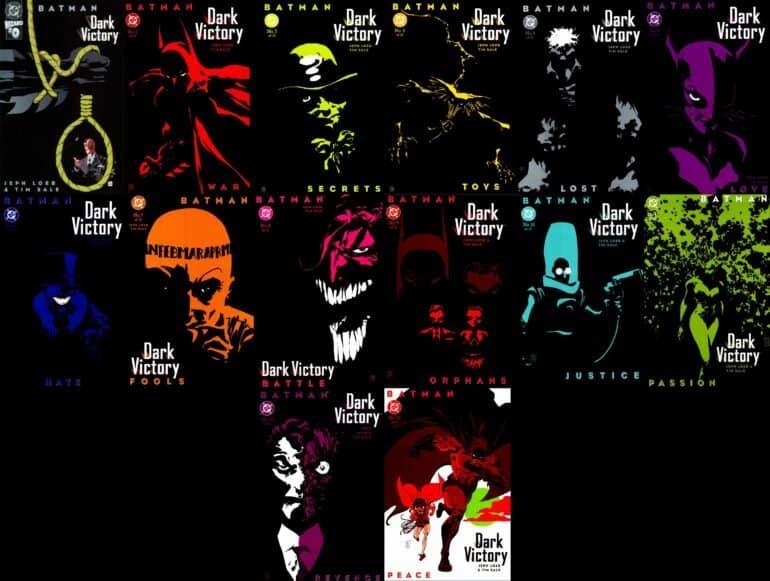 Batman - Dark Victory The Long Halloween Sequel