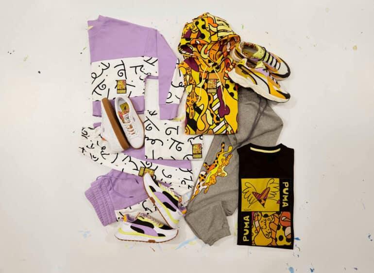 PUMA and Happy Art Movement Drop PUMA x BRITTO Collection