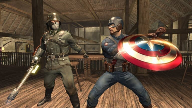 superhero games Captain America: Super Soldier