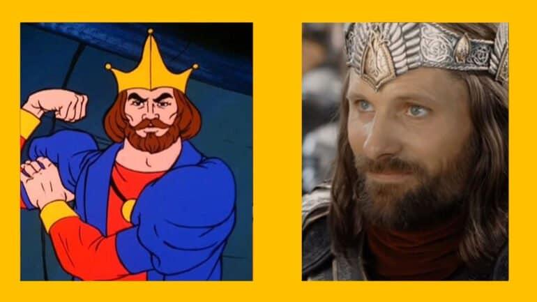 King Randor – Viggo Mortensen