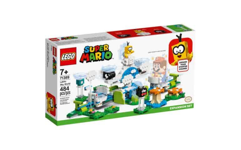 LEGO Super Mario - Lakitu Sky World Expansion Set 71389 Review