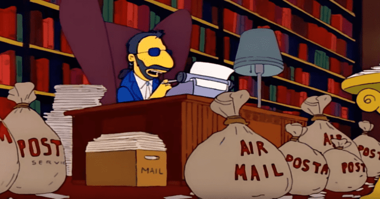 The Beatles No Letter Left Unanswered The Simpsons Predictions That Came True