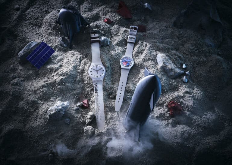 Swatch Space Collection Inspired by NASA Spacesuits