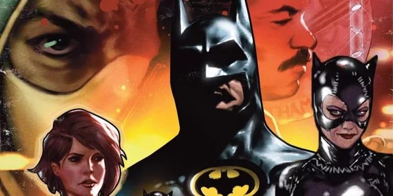 An alternative cover for Batman '89 #1