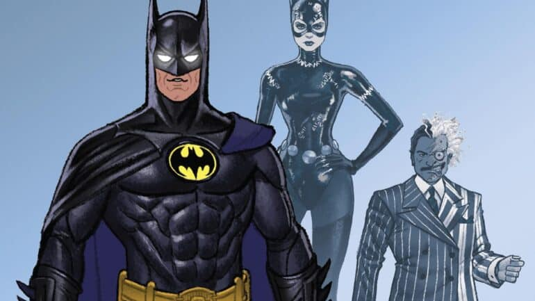 Batman, Catwoman and Two-Face in Batman '89 #1