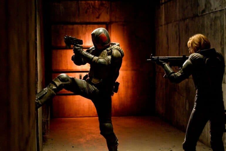 Karl Urban Dredd 2 3D Mega-City One