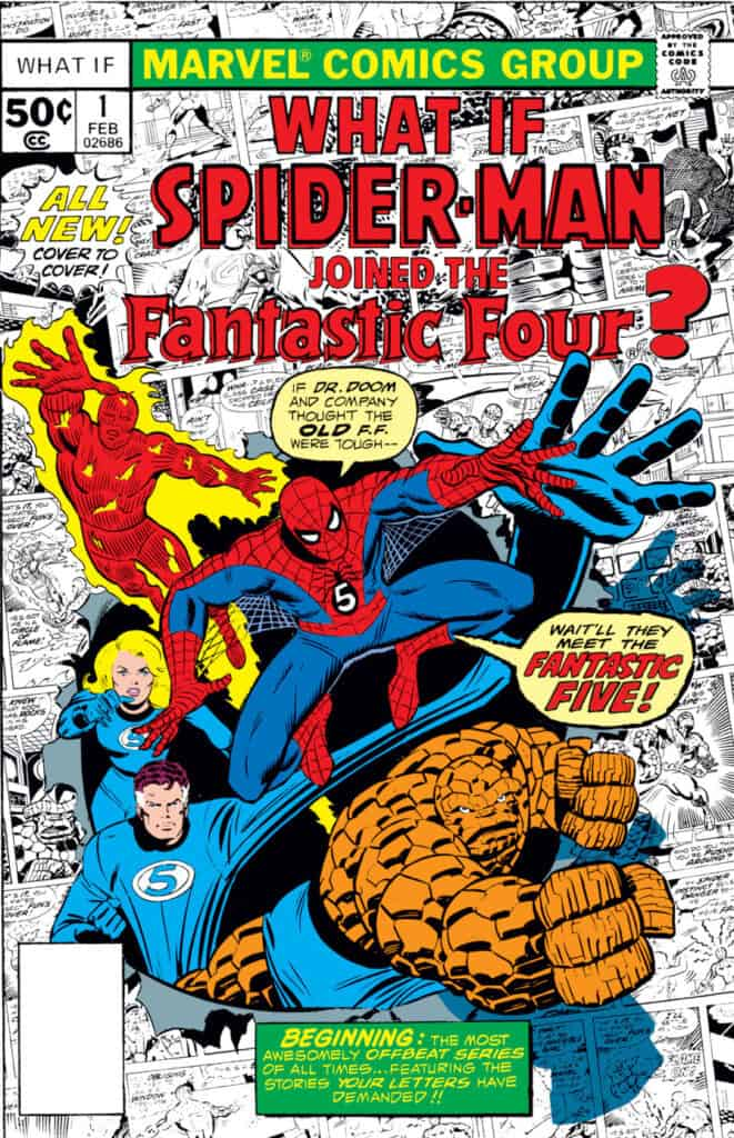 Marvel What If #1 Spider-Man Fantastic Four