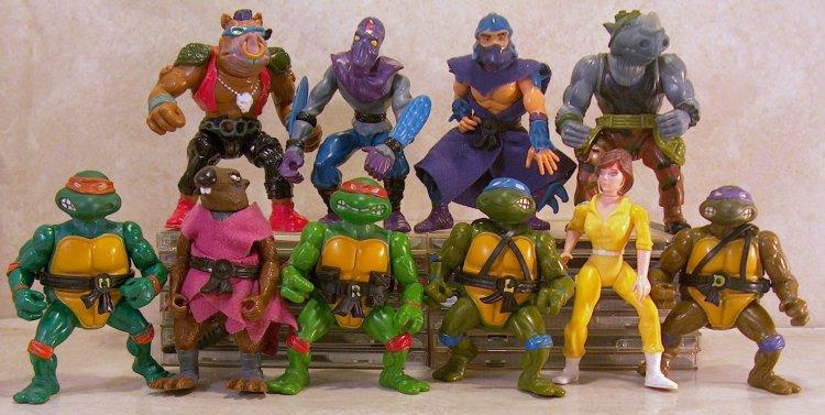 Playmates-1988 - Ninja Turtles Toys