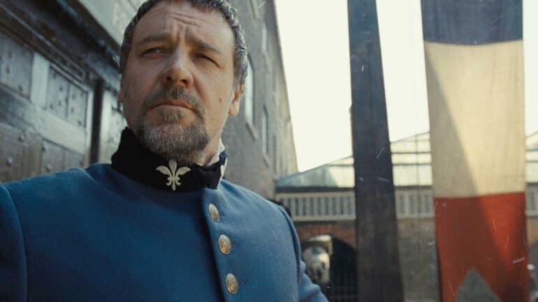 Russell Crowe as Inspector Javert Great Actors Terrible Roles