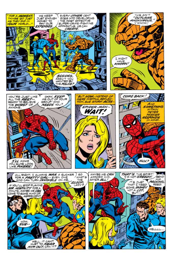 What If Marvel Spider-Man Fantastic Four