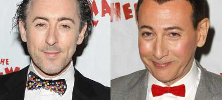 Alan Cumming and Paul Reubens Actors Who Look Alike