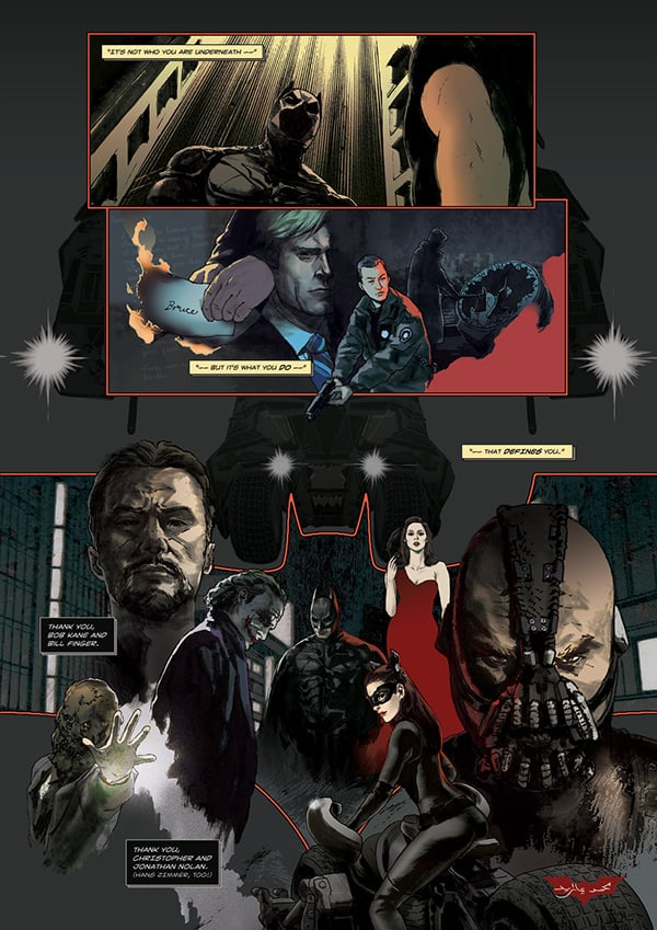 Batman Dark Knight Nolanverse Comic Book