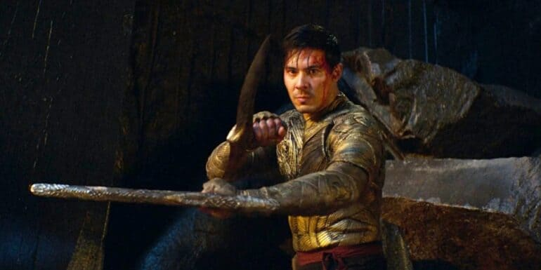 Cole Young in Mortal Kombat