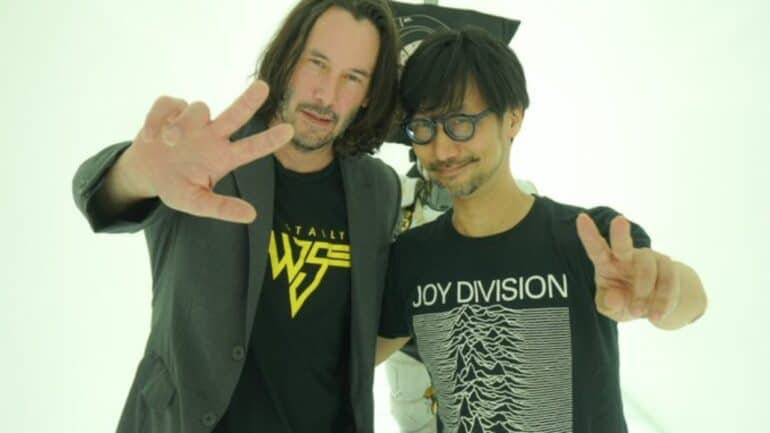 Hideo Kojima Matrix game