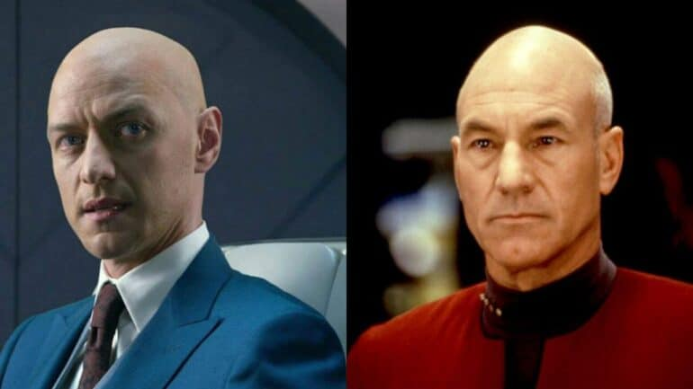 James McAvoy Young Jean-Luc Picard