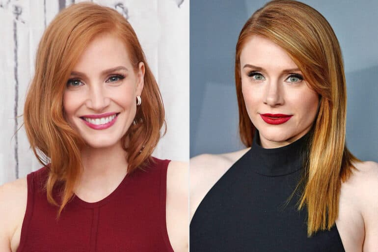 Jessica Chastain and Bryce Dallas Howard ACtors Who Look Alike