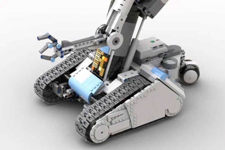 Johnny 5 Short Circuit LEGO Set