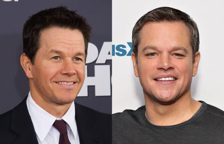 Mark Wahlberg and Matt Damon Actors Who Look Alike