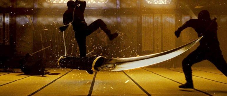Fighting in Ninja Assassin