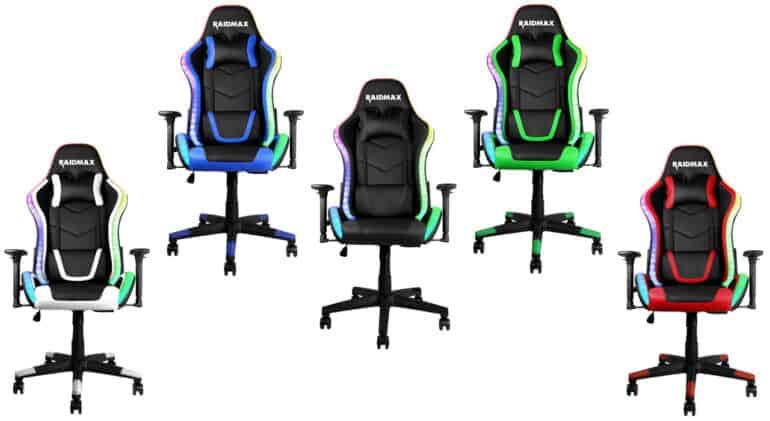 Raidmax DK925 ARGB Gaming Chair – A Lighting Extravaganza