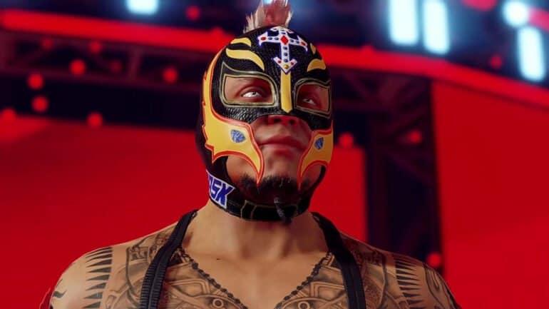 Rey Mysterio in WWE 2K22