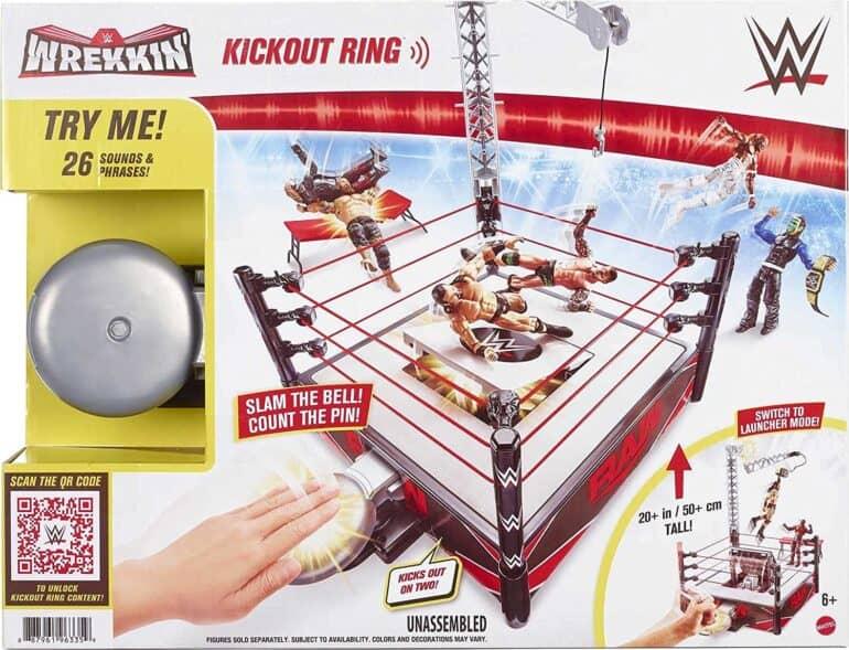 WWE Wrekkin' Kickout Ring Playset