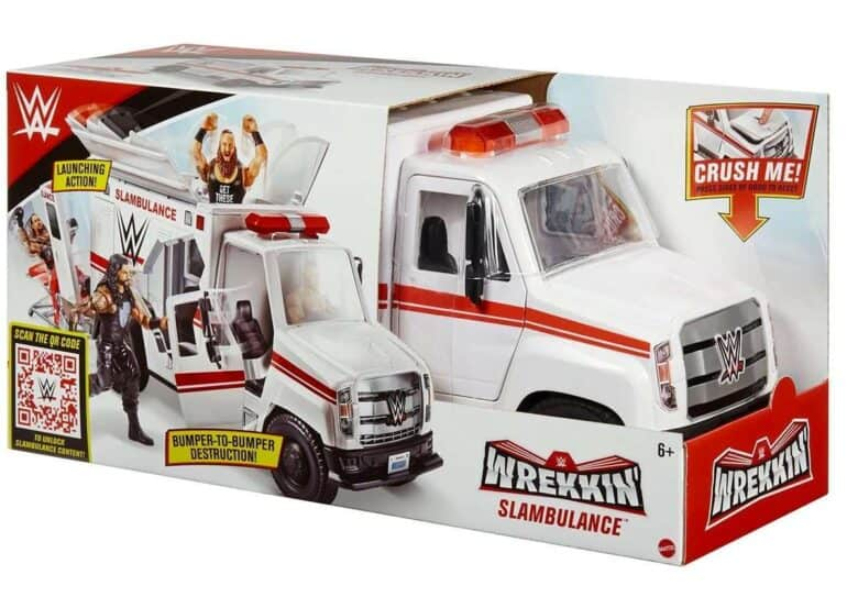 WWE Wrekkin' Slambulance Vehicle Review