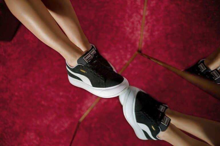 PUMA and Dua Lipa Drop Second Suede Mayu Sneaker