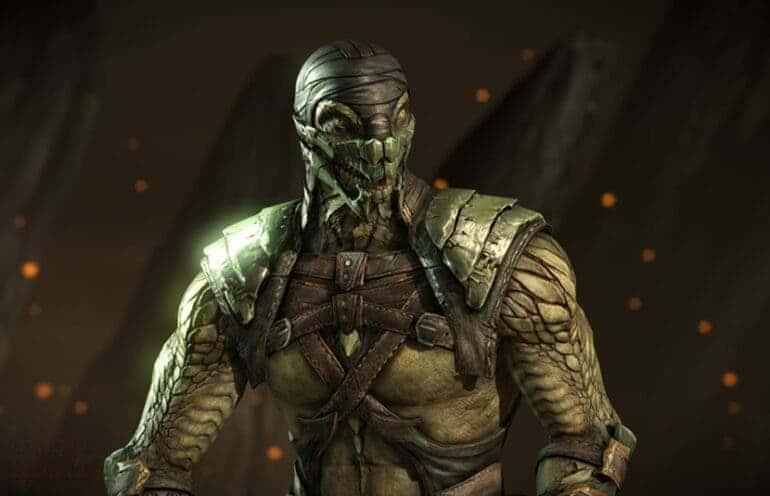 Reptile Mortal Kombat 12